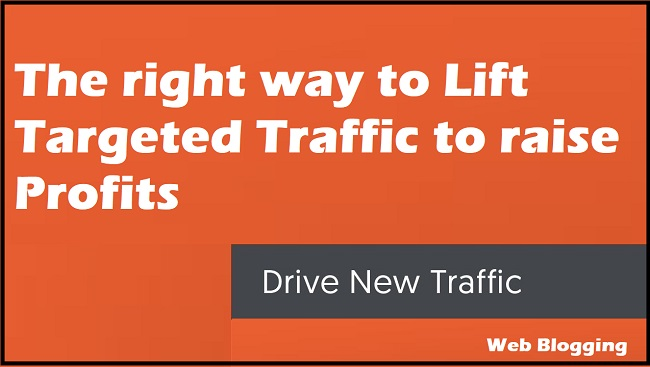 The right way to Lift Targeted Traffic to raise Profits